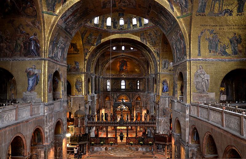 Venice, Basilica di San Marco, Interior