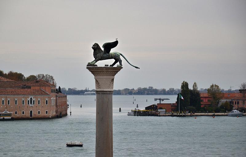 Venice, San Marco, Piazetta, Lion