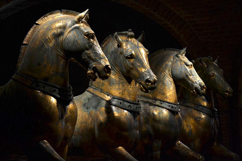 Venice, Basilica di San Marco, Horses of San Marco, Quadriga