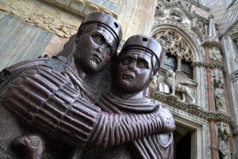 Venice, Basilica di San Marco, Tetrarchs