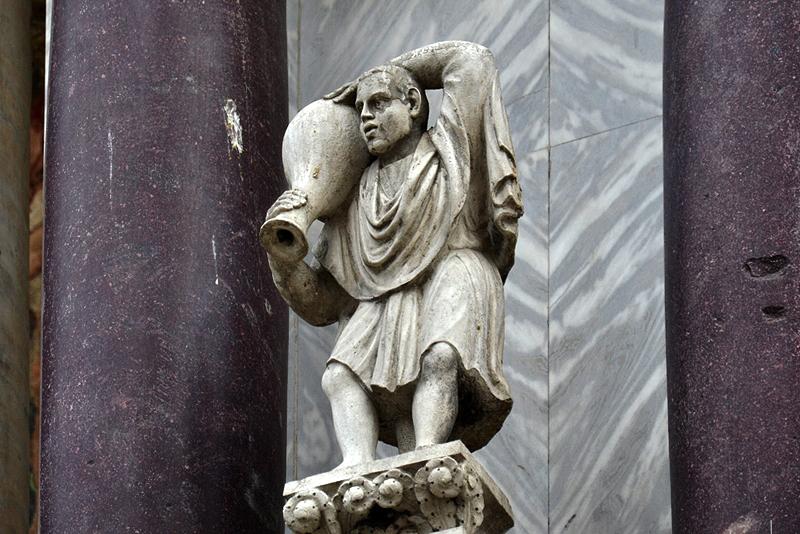 Venice, Basilica di San Marco, Water Carrier