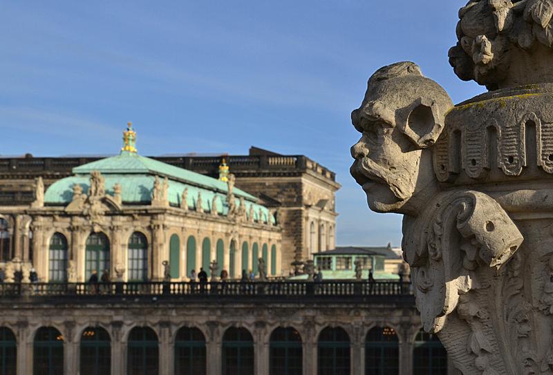 Zwinger Dresden, Vase, Deutscher Pavillon