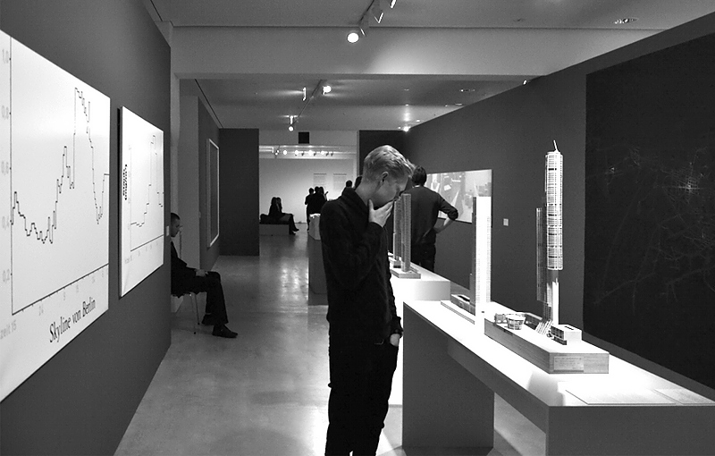 Berlinische Galerie, Ausstellungsraum und Besucher
