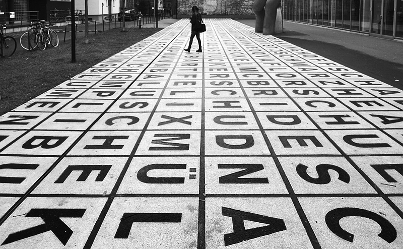 Berlinische Galerie, Kühn Malvezzi, Markierung Glaslager