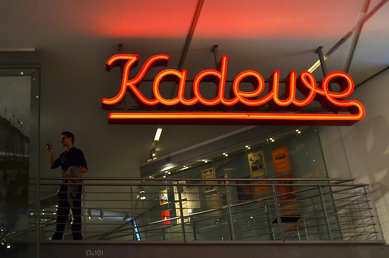 Jüdisches Museum Berlin, Daniel Libeskind, Ständige Ausstellung, Kadewe