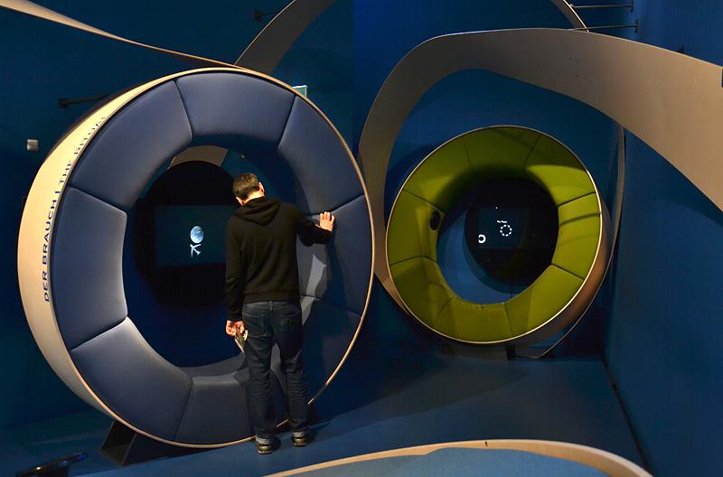 Jüdisches Museum Berlin, Daniel Libeskind, Ständige Ausstellung, Medienstation für Knder