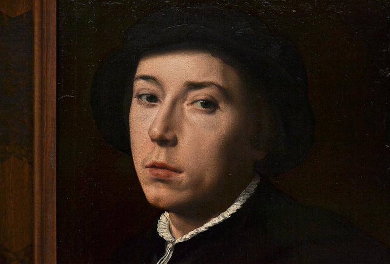 Gemäldegalerie Berlin, Willem Adriaensz Key, Bildnis eines jungen Mannes mit Barett
