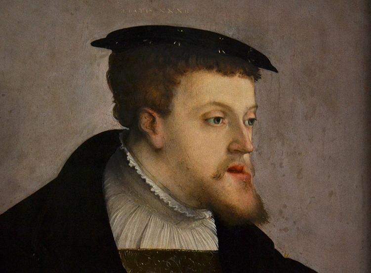 Gemäldegalerie Berlin, Cristoph Amberger, Portrait Kaiser Karl IV.
