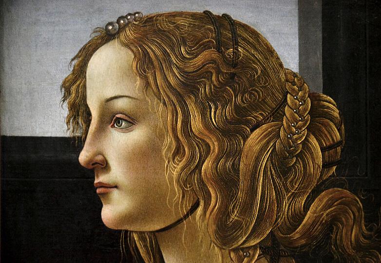 Gemäldegalerie Berlin, Sandro Botticelli, Portrait Simonetta Vespucci