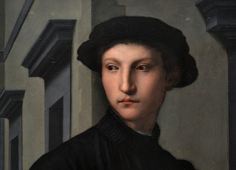 Gemäldegalerie Berlin, Agnolo Bronzino, Portrait Ugolino Martelli