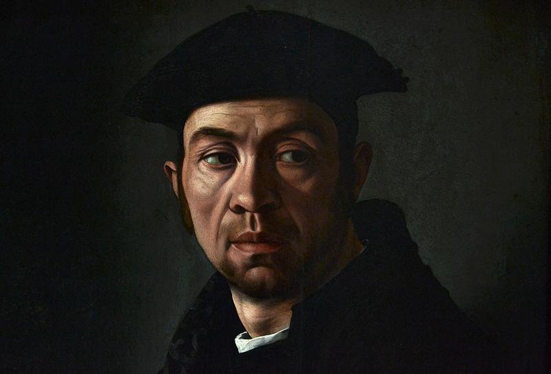 Gemäldegalerie Berlin, Jacopino del Conte, Portarit of a Man