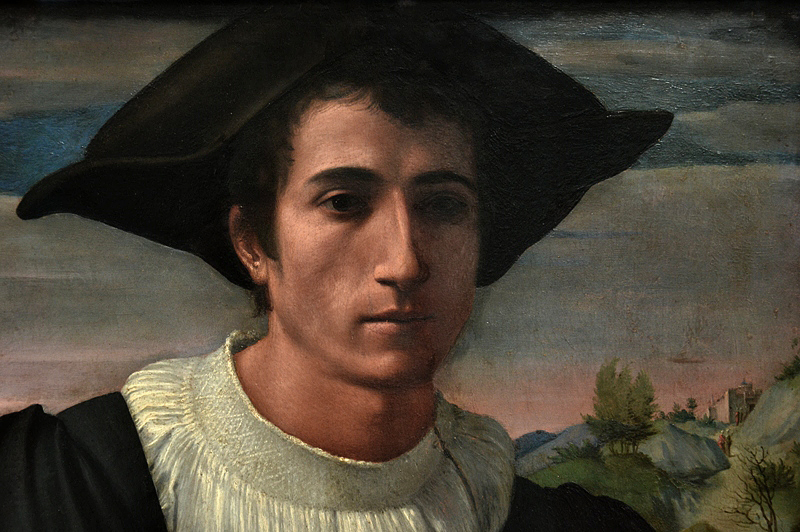 Gemäldegalerie Berlin, Franciabigio, Portrait of a young Man