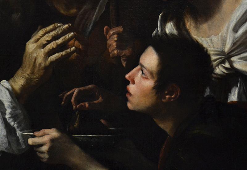 Gemäldegalerie Berlin, Caravaggio-Nachfolger, Die Heilung des Tobias