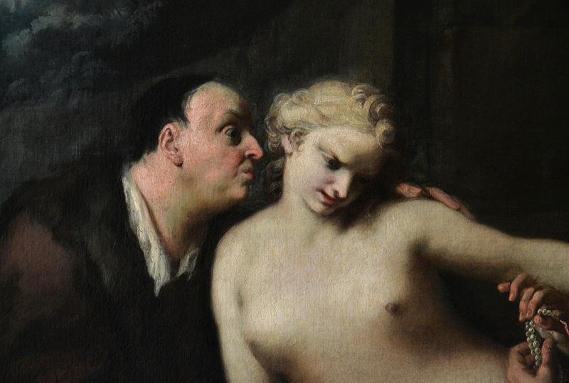 Gemäldegalerie Berlin, Jacopo Amigoni, Susanna im Bade und die beiden Alten