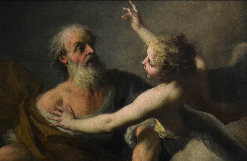 Gemäldegalerie Berlin, Jacopo Amigoni, Abraham und Isaak