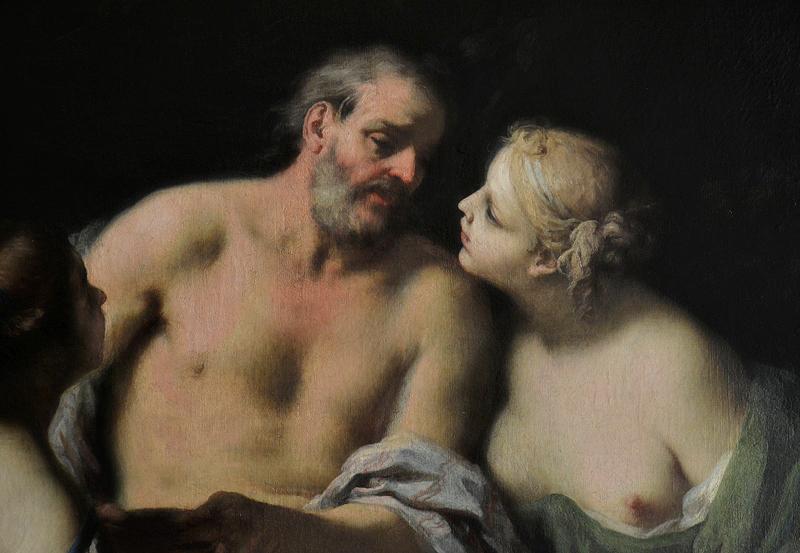 Gemäldegalerie Berlin, Jacopo Amigoni, Lot und seine Töchter