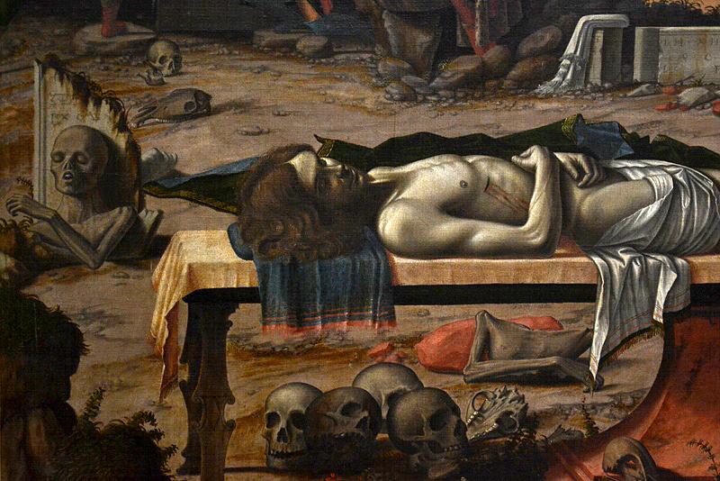 Gemäldegalerie Berlin, Vittore Carpaccio, Die Grablegung Christi