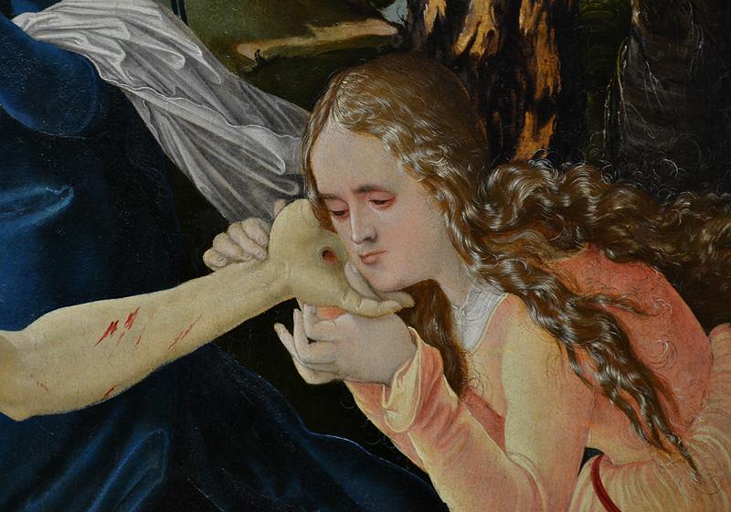 Gemäldegalerie Berlin, Hans Baldung gen. Grien, Beweinung Christi