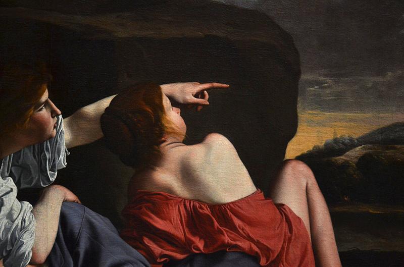 Gemäldegalerie Berlin, Orazio Gentileschi, Lot und seine Töchter