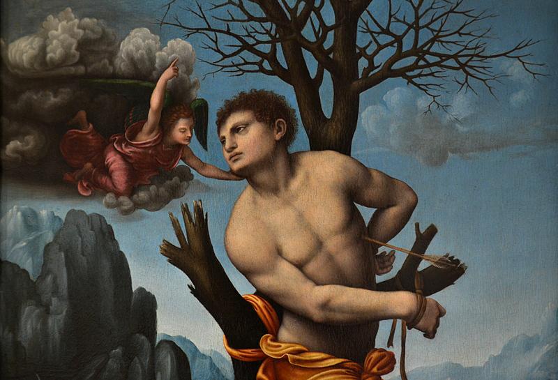Gemäldegalerie Berlin, Marco d'Oggiiono, Saint Sebastian