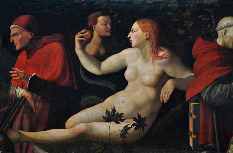 Gemäldegalerie Berlin, Ausstellung Ave Eva, Guillaume de Marcillat, Der Disput von KIrchenlehrern über die Unbefleckte Empfängnis