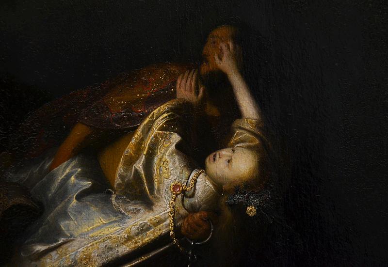 Gemäldegalerie Berlin, Rembrandt von Rijn, Der Raub der Proserpina