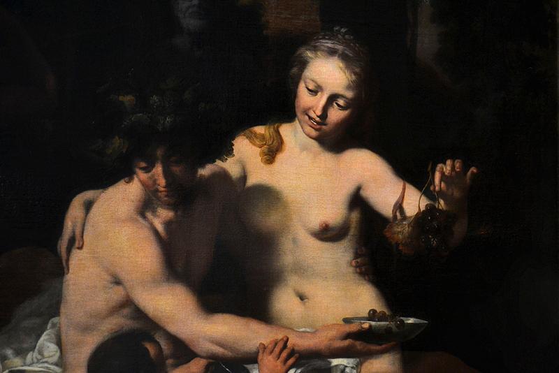 Gemäldegalerie Berlin, Gerard de Lairesse, Satyr und Nymphe mit jungem Faun