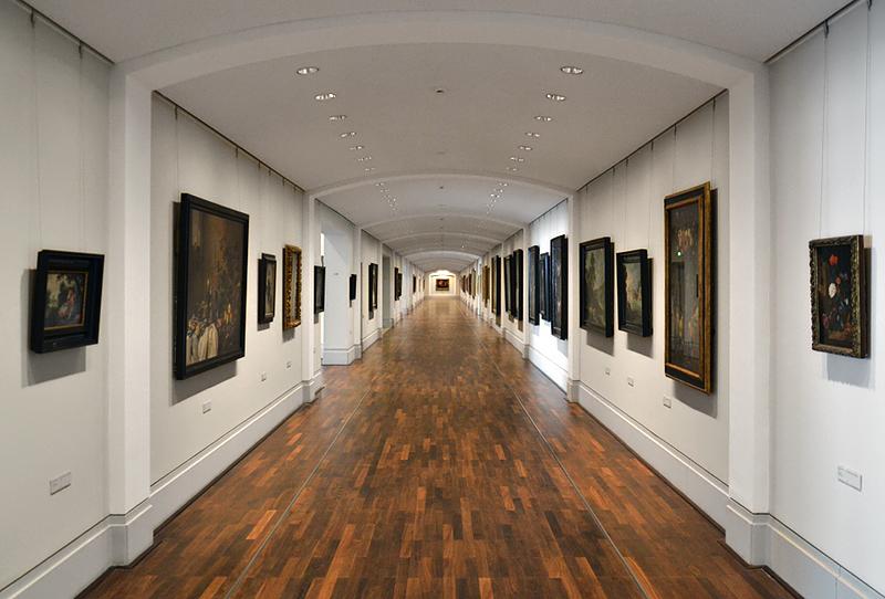 Sockelgeschoss der Gemäldegalerie Berlin