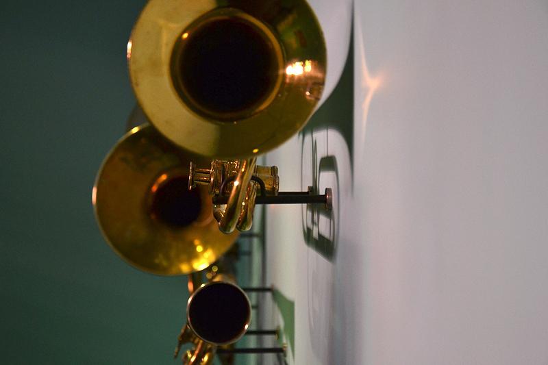 Ausstellung Valve Brass Music, 200 Jahre Ventilblasinstrumente, Valve Brass Music 200 Jahre Ventilblasinstrumente, Trompeten