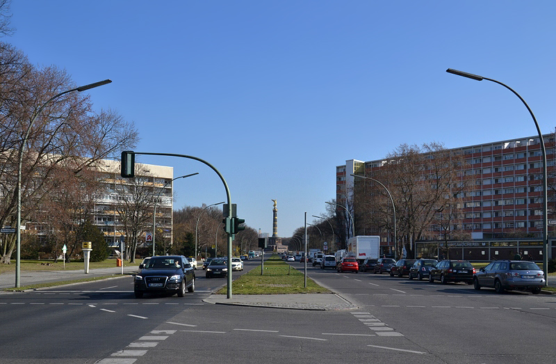 Hansaviertel Berlin, Interbau 1957, hansaplatz und Altonaer Straße