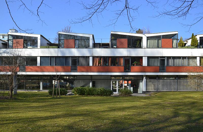 Hansaviertel Berlin, Interbau 1957, Wohnhaus A1 von Paul G.R. Baumgarten