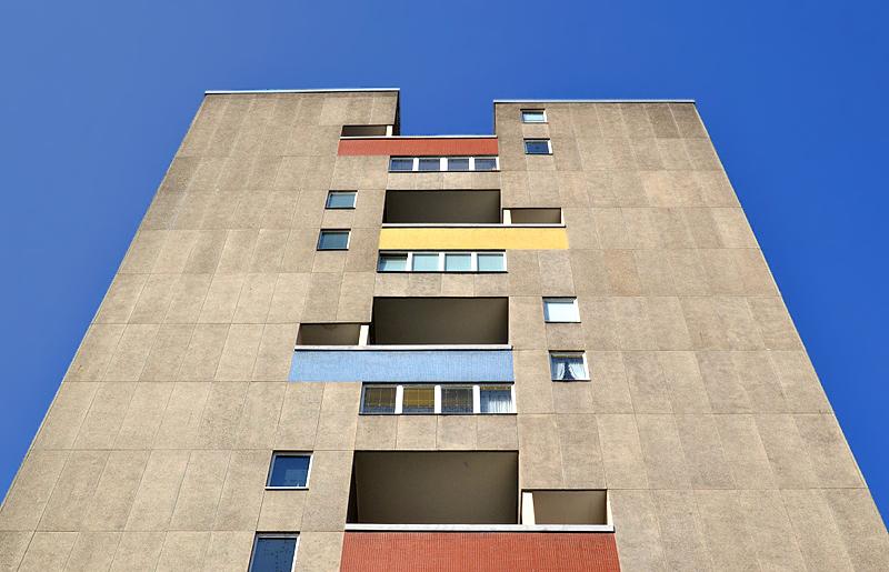 Hansaviertel Berlin, Interbau 1957, Hochhaus von J.H. van den Broek und J.B. Bakema