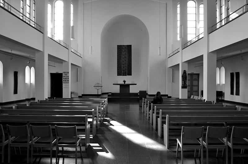 St. Matthäus-Kirche, Innenraum, Kulturforum