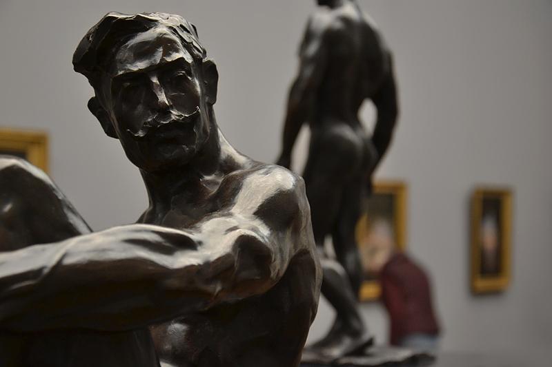Rembrandt Bugatti, Alte Nationalgalerie, Athlet