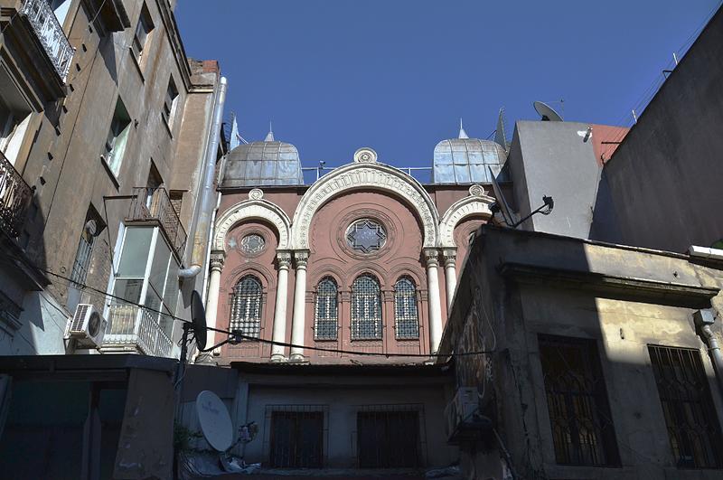 Istanbul, Galata, Ashkenazi-Synagoge