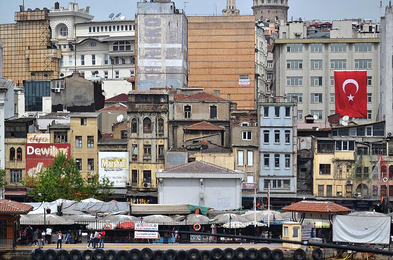 Istanbul, Karaköy, Fischmarkt