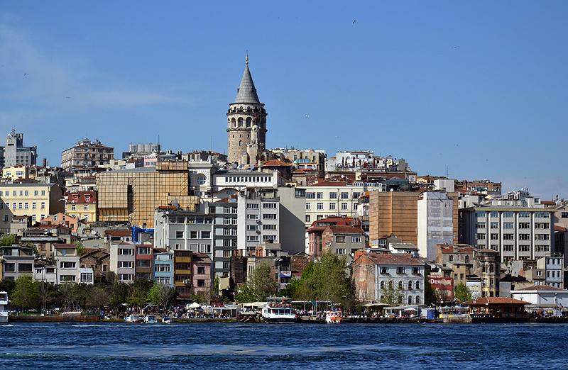 Istanbul, Galata kulesi