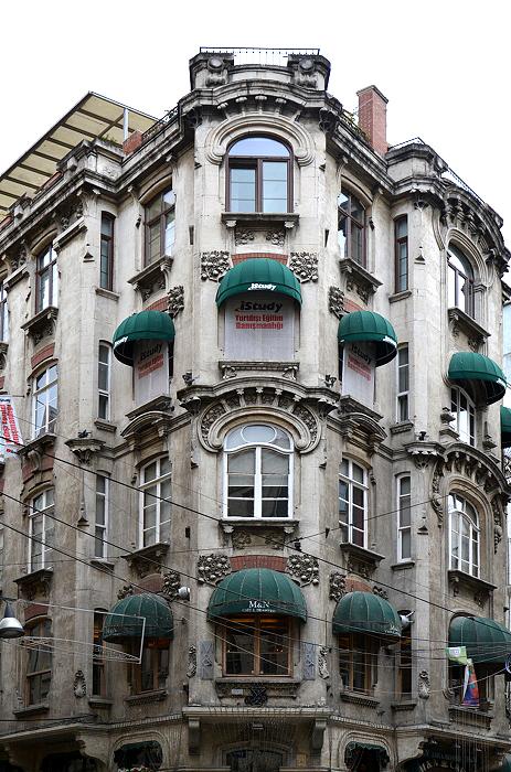 Istanbul, Beyoğlu, İstiklal Caddesi, Architektur