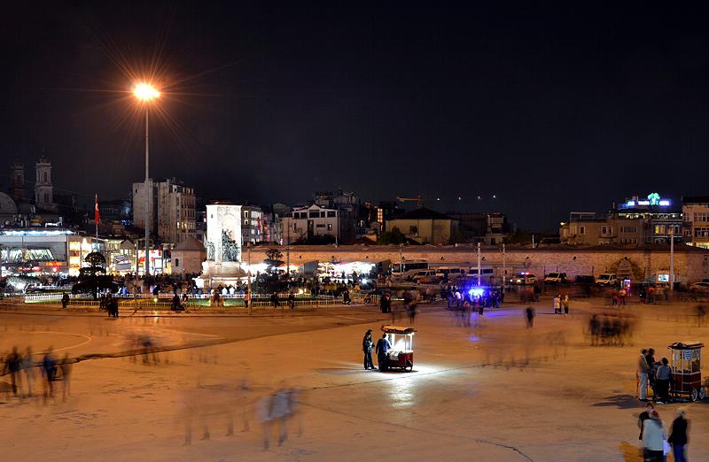 Istanbul, Taksim Meydanı