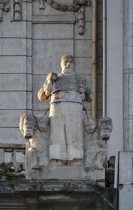 Istanbul, Galata, Ziraat Bankası