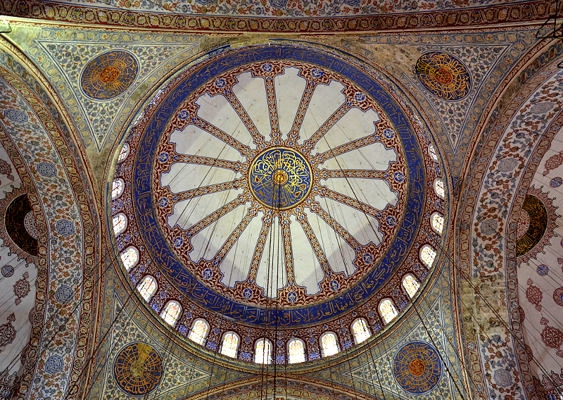 Istanbul, Blaue Moschee, Kuppel