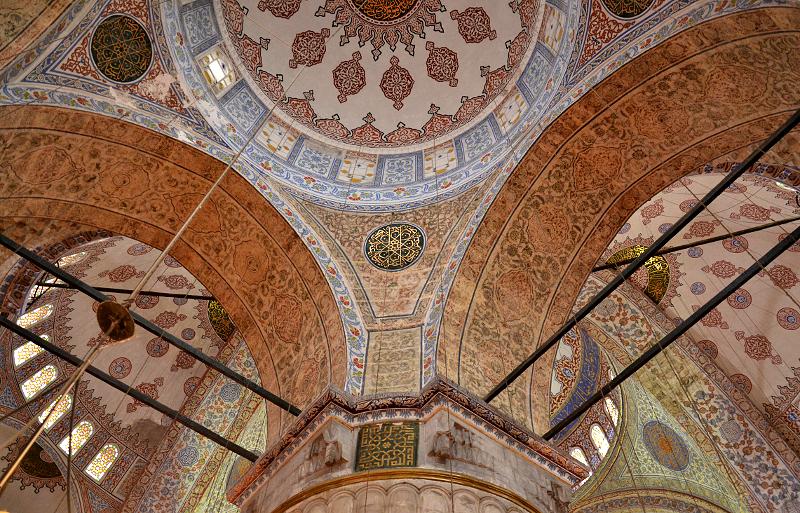 Istanbul, Blaue Moschee, Pfeiler