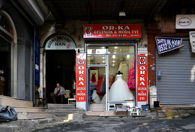 istanbul, Altstadt, Brautmoden
