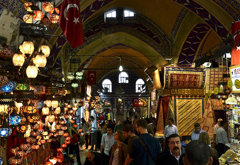 Istanbul, Großer Basar, Kapalı Çarşı