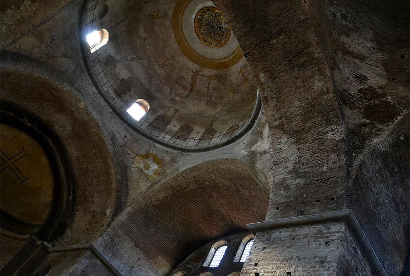 Istanbul, Hagia Eirene, Kuppel