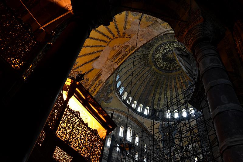 Istanbul, Hagia Sophia, Kuppel