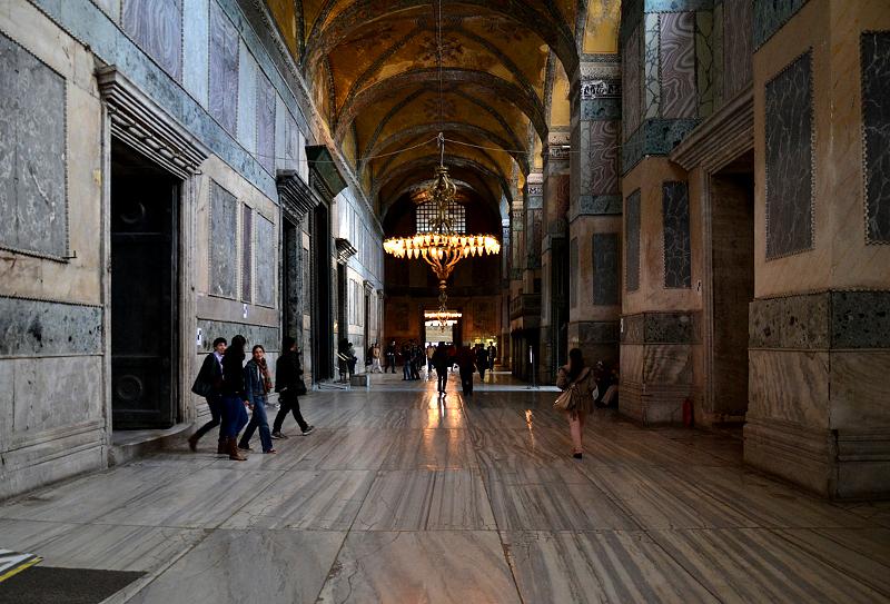 Istanbul, Hagia Sophia, Narthex