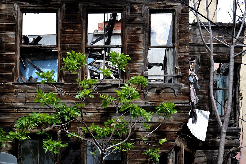 Istanbul, Holzhaus