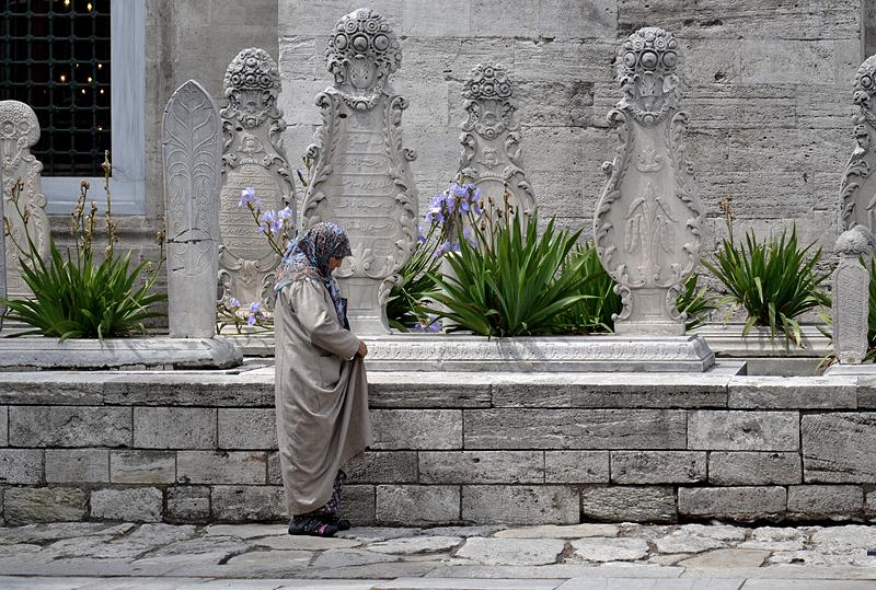Istanbul, Mausoleengarten der Süleymaniye-Moschee