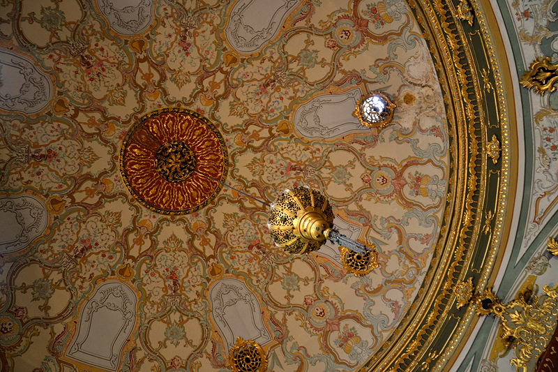 Topkapi-Palast, Kuppel im Diwan